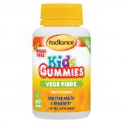 RADIANCE KIDS GUMMIES VEGE FIBRE 60