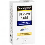 NEUTROGENA ULTRA SHEER SUNSCREEN SPF50 40ML
