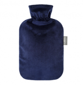 Fashy Hot Water Bottle Plush Royal Blue 2 Litre