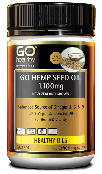 GO Healthy GO Hemp Seed Oil 1100MG 100 Capsules