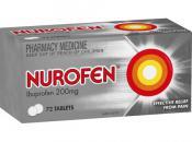 Nurofen Tablets 72