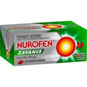 Nurofen Zavance Liquid Capsules 60