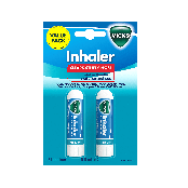 Vicks Inhaler 0.5ml Twin Pack