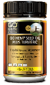 GoHealthy Go Hemp Seed Oil Plus Tart Cherry 5HTP 100s
