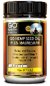 GoHealthy Go Hemp Seed Oil Plus Magnesium 60 Tablets