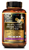 GO APPLE CIDER VINEGAR 1,000mg WITH CAPSI-SLIM 60 CAPSULES