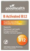 Good Health B Activated B12 120 Tablets