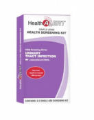 Health Alert Health Screening Kit for UTI 3 Kit